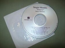 Sergio Mendes            **PROMO REMIX CD **           Emorio