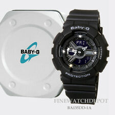 Authentic Casio Baby G-Shock 35th Anniversary Diamond Index Watch BA135DD-1A