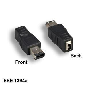 Kentek IEEE-1394a Firewire 6Pin Male to 4Pin Female Adapter for PC MAC iLINK SUN