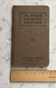 VINTAGE RAILROAD INSTRUCTION MANUAL BOOK THE BAKER LOCOMOTIVE VALVE GEAR PILLIOD