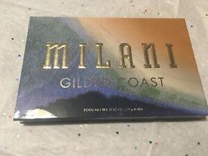 Milani Gilded Coast Hyper-Pigmented Eyeshadow Palette Full Size NWOB
