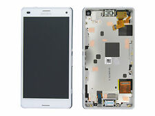 Genuine Sony D5803, D5833 Xperia Z3 Compact White LCD Screen & Digitizer & Frame