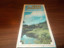 1978/79 New Jersey State-issued Vintage Road Map