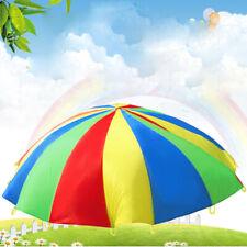 Kinder Garten Schwungtuch Fallschirm Schwungtücher Regenbogen Spielzeug 1.1 M