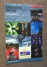 Depeche Mode Remastered Albums Collectors Edition 2007 Rhino Promo Poster 11x17