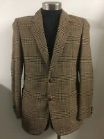 Anthony Squires Sherlock Holmes Tweed Wool Jacket Coat M/L