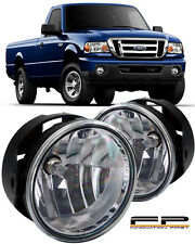 For 2008-2011 Ford Ranger Clear Replacement Fog Lights Housing Assembly Par
