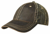 Port Authority Unstructured Hat Hook Loop Closure Low Profile Baseball Cap. C819