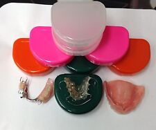 Two Perfect DENTAL Invisalign STORAGE CASES ORTHO RETAINER DENTURE Oral Care 😷