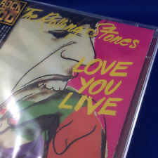ROLLING STONES: Love You Live (RARE OOP 1999 JAPAN ADVANCE PROMO CD TOCP-53022)