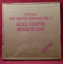 Alice Cooper MUSCLE OF LOVE Sealed Original 1973 LP Cardboard Box Cover