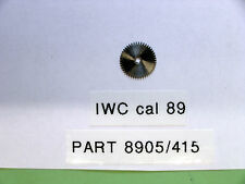 IWC cal 89 Ratchet wheel part  8905                415
