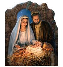 Christmas Nativity Yard Sign Decoration Holiday Christmas Jesus Dona Gelsinger