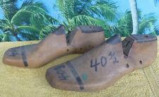 Echte Uralte Originale Schuhmacher-Schuhleisten Holz Gr. 40,5 - ca.100 Jahre alt