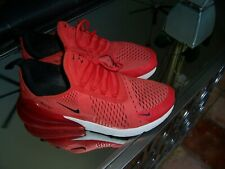 NIKE 270 MENS 10.5 USED RED TRASHED