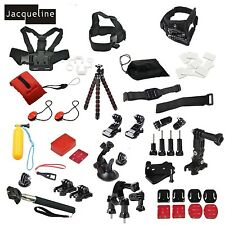 Outdoor Accessories Kit for Gopro Go pro HD hero 5 4 Session 4 3+ 3 2/SJCAM/EKEN