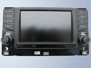 "Display Panel Display Composition Media 6,5 "" VW Golf 7 5G Passat B8 Touran 5T"