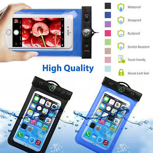 Case For iPhone 11/Pro XR XS X SE 8+ 7+ 6S+ 6 Waterproof Pouch Underwater Cover