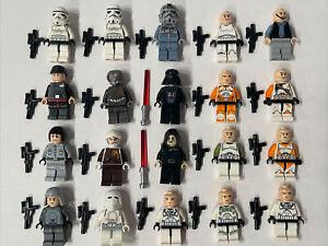 MASSIVE LEGO STAR WARS MINIFIGURES LOT Darth Vader Storm Troopers Bomb Squad +