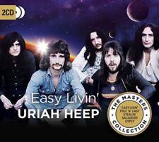 Uriah Heep - Easy Livin' - New 2CD Album - Released 27th July 2018