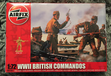 MAQUETTE MODEL AIRFIX 1:72 A01732 WWII BRITISH COMMANDOS SOLDATS NEW NEUF 08