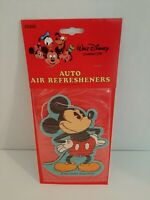 1980's Vintage Walt Disney Micky Mouse Car Air Freshener Larger