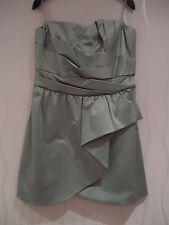 LADIES MINT GREEN COCKTAIL DRESS BY MISS SELFRIDGE SIZE 16 UK