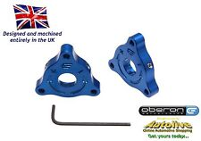 Oberon Performance Aprilia 22mm A/F Fork Preload Adjusters - PRE-0001-BLUE