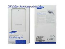 GENUINE SAMSUNG GALAXY S5 SPARE BATTERY AND CHARGER KIT EB-KG900BWE RETAIL PACK