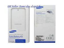 Original Samsung Galaxy S4 Batería De Repuesto Y Cargador Kit eb-kg900bwe Retail Pack