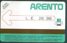 TELECARTE N° 4 D'EGYPTE EGYPT- Urmet - D4   - Mint -NEUF -1986-TRES TRES  RARE
