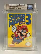 1990 Super Mario Bros. Brothers 3 Nintendo NES New Sealed WATA 8.5 A SMB3