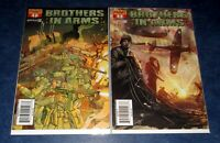 BROTHERS IN ARMS #1 A & B variant 1st print set DYNAMITE COMIC 2008 TV SERIES NM