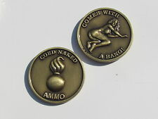CO Ed Naked AMMO Challenge Coin