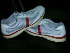 Prada America's Cup Mens Shoes size 11 US. Sneakers PS0906 White & Red Trim
