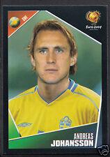 Football Sticker- Panini - UEFA Euro 2004 -  Sticker No 187 - Sweden