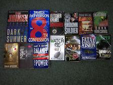 Lot of 13 books suspense thriller fiction james patterson iris Johansen A J Holt