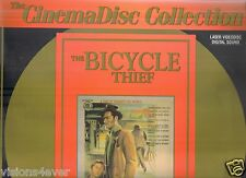 The Bicycle Thief Laserdisc * Vintage Classic
