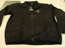Ac Milan 2011 Soccer IN Track Top Jacket XL Black Poly