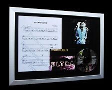DEPECHE MODE It's No Good LIMITED Nod CD FRAMED DISPLAY