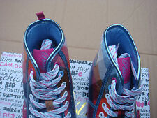 womens Comfort,textile/fabric Ice Plaid Pastry CANDY RUSH mid trainers UK size 4