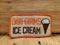 Vtg Dari Farms Ice Cream Ct Patch Employee Patch 1980s