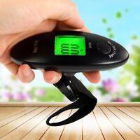 40kg/100g Tragbare LCD Digital Reise Hängen Gepäckwaage Elektronische Wiegen