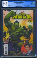 Totally Awesome Hulk 1 (Marvel) CGC 9.8 Wht Pages 1st appearance Lady Hellbender