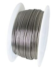 "Stainless Steel Wire Rope - 316SS - 1 x 19 - 1/8"" Cable Railings - 500 FT"
