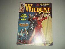 Wildcat Adventures Pulp Fiction Magazine September 1961