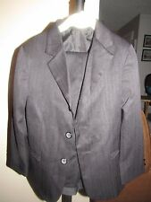 GEORGE  BLACK SUIT JACKET AND PANTS children   WEDDING  FORMAL TUXEDO  SIZE 6