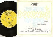 DONOVAN ATLANTIS & TO SUSAN ON THE WEST COAST SWEDISH 45+PS 1969 MOD BEAT PSYCH