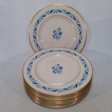 "(8) Eight 6 1/4"" Plates, Lenox BLUERIDGE P-316 Discontinued Pattern"