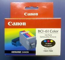 Canon BCI-61 Color Ink Tank for BJC-7000 New Genuine